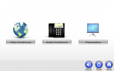 Bankers Financial Touch Panel Home Screen