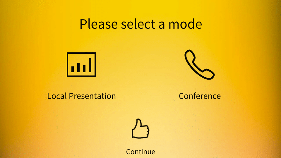Ansys Inc Touch Panel Mode Select