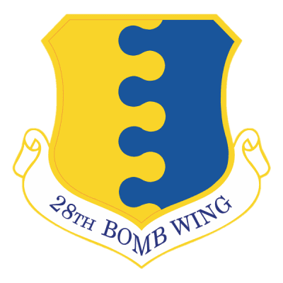 Ellsworth Air Force Base 28th Bomb Wing Logo