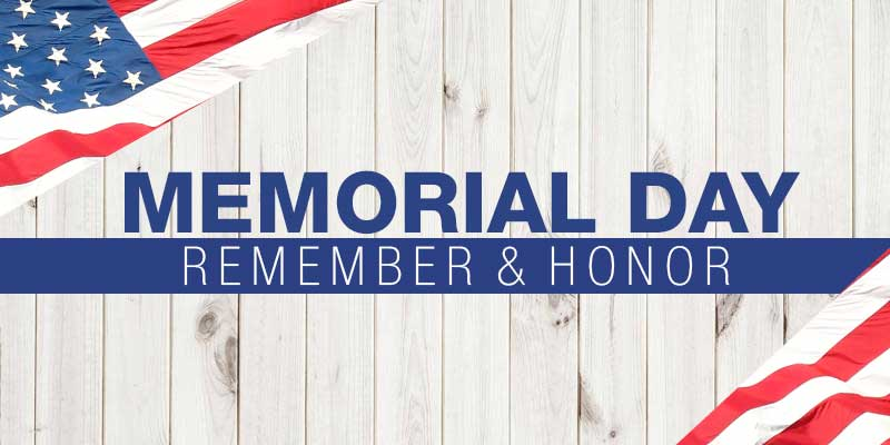 Memorial Day Remember & Honor